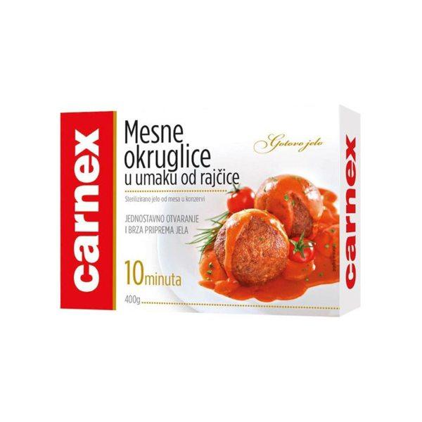 Mesne okruglice u umaku od rajčice 400g, Carnex