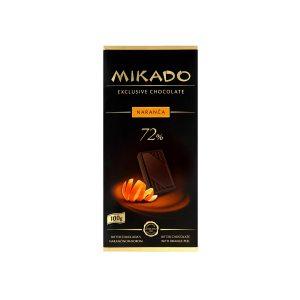 Mikado tamna čokolada s naranč. korom 100g, Zvečevo
