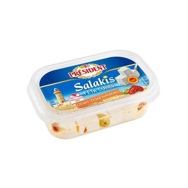 President Salakis feta sir, masline, suš.rajčice u ulju 200g