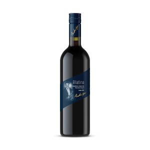 Vino kvalitetno crveno Blatina 1L, Podrumi Andrija