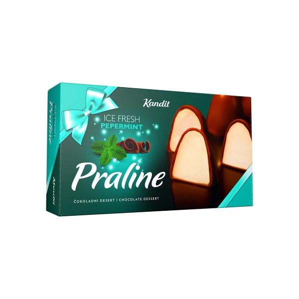Praline Ice fresh pepermint 280g, Kandit