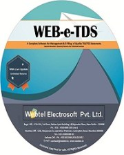Buy Webtel ETDS Returns Software for F.Y. 2018-19 at 10% Discount