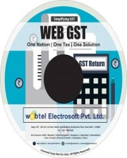 Buy Webtel E GST Returns Software for F.Y. 2018-19 at 10% Discount