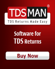 Buy or Renew Tdsmann E Tds Standard Edition Software for F.Y. 2018-19 at 20% Discount