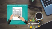 Impact Analysis of CGST Amendment Act 2018 - Online Webinar Course