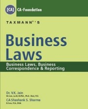 Business Correspondence & Reporting with Business Laws (Set of 2 Books)