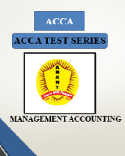 ACCA MANAGEMENT ACCOUNTING Test Series By Anant Institute