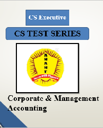 CS Executive Group II Corporate & Management Accounting Test Series By Anant Institute