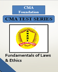 CMA Foundation Fundamentals of Laws and Ethics Test Series By Anant Institute