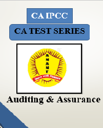 CA IPCC Group II Auditing and Assurance Test Series By Anant Institute