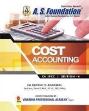CA IPCC COSTING BOOK By CA Rakesh V. Agrawal