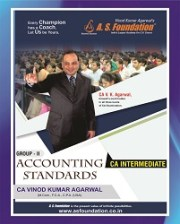 CA INTER ACCOUNTING STANDARDS - NEW SYLLABUS (GROUP - II) BOOK