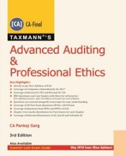 Advanced Auditing & Professional Ethics (CA-Final) by Pankaj Garg [New Syllabus]