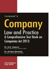 CA Final Company Law and Practice by G K Kapoor & Sanjay Dhamija