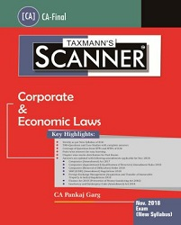 CA Final Scanner - Corporate & Economic Laws by Pankaj Garg