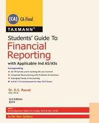 Students Guide To Financial Reporting with Applicable Ind AS/Ass (As Per New Syllabus)