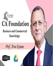 CA Foundation Paper - 4B, Business Commercial Knowledge