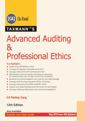 CA Final Advanced Auditing & Professional Ethics Old Syllabus By Pankaj Garg