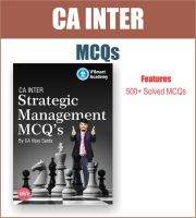 CA INTER STRATEGIC MANAGEMENT SM MCQ BOOK BY CA VIJAY SARDA