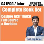 CA INTER COSTING FAST TRACK REVISION COMPLETE BOOK SET BY RAJ AWATE