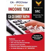 CA-IPCC/INTER INCOME TAX BY CA CS SHERY RATHI