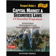 CAPITAL MARKET & SECURITIES LAWS BY SANGEET KEDIA (OLD SYLLABUS)