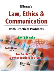 CA IPCC LAW, ETHICS & COMMUNICATION by Amit Karia
