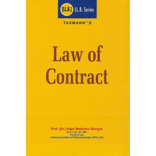 TAXMANN LAW OF CONTRACTS, LL.B.SERIES
