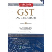 GST LAW & PROCEDURE BY CA ASHOK BATRA (SET OF 3 VOLS)