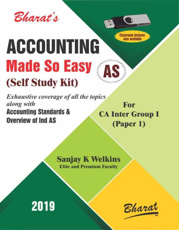 CA Inter ACCOUNTING Made So Easy (Self Study Kit) [For CA Intermediate-Group I (Paper 1)