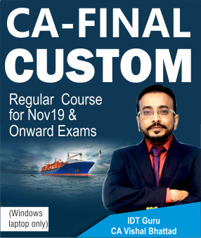 CA FINAL CUSTOM FTP VIDEO LECTURES – BY CA VISHAL BHATTAD