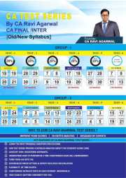 CA FINAL ISCA / Elective Papers Old/New Syllabus Test Series by CA Ravi Agarwal