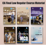 CA FINAL LAW COMPLETE BOOK SET BY CA DARSHAN KHARE