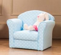 Brand New Kids Fabric Armchair Sofa Seat Stool Childrens ...