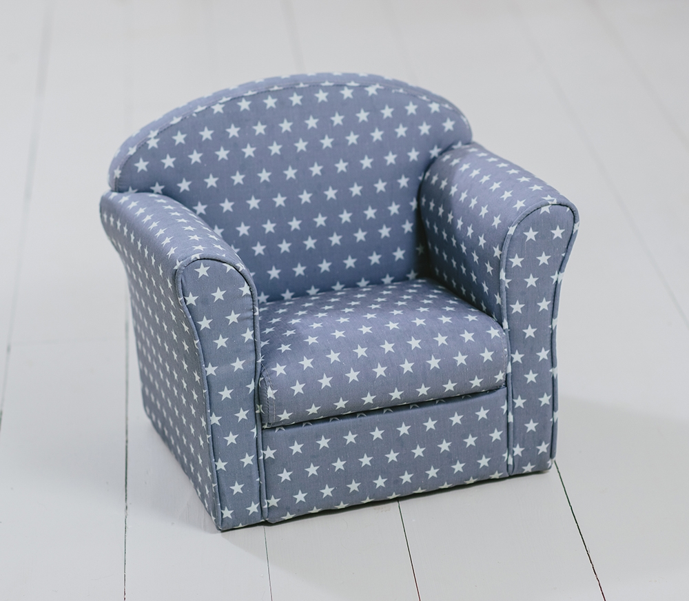 Childrens Upholstered Armchairs Animal Star Flower