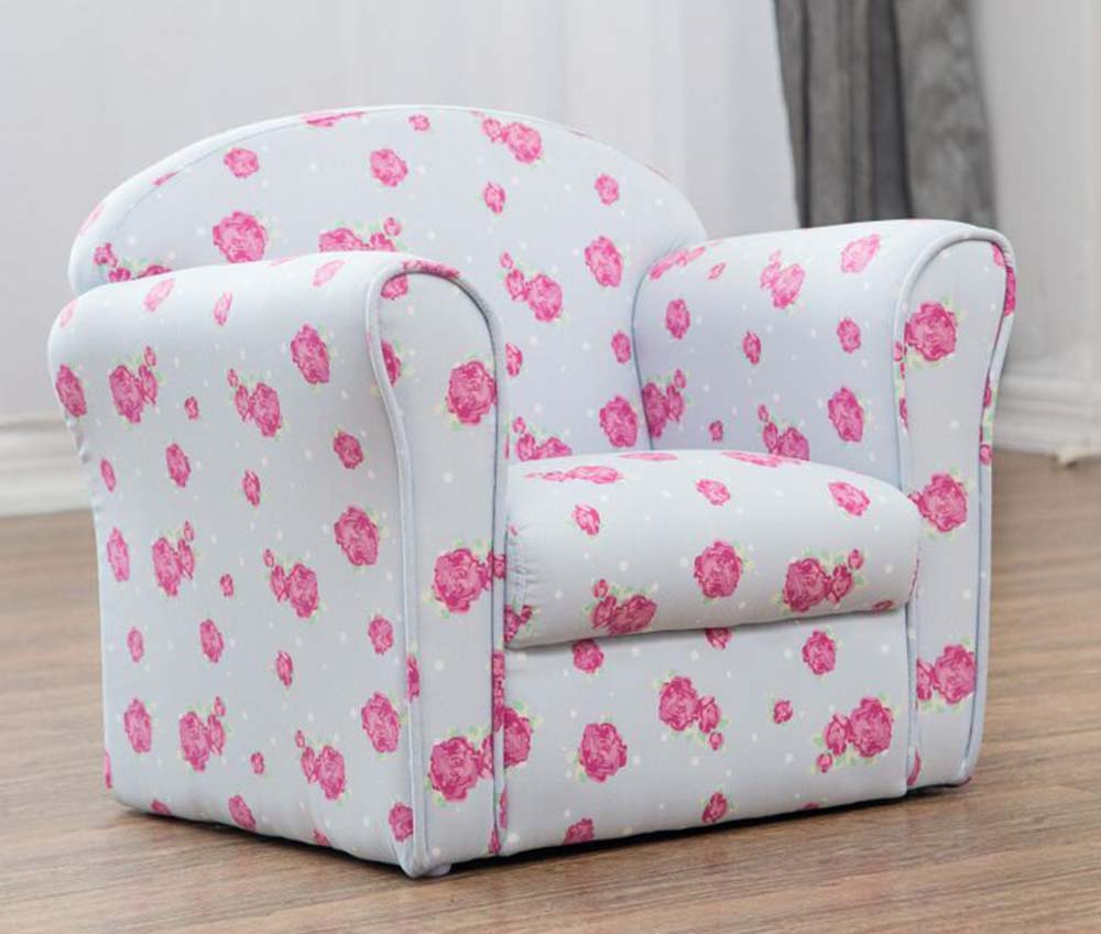 Kids Childrens Chair Armchair Sofa Seat Fabric