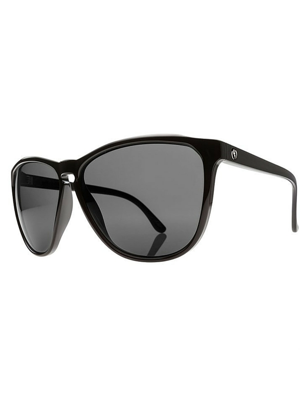 Electric Encelia Sunglasses - Gloss Black- Grey