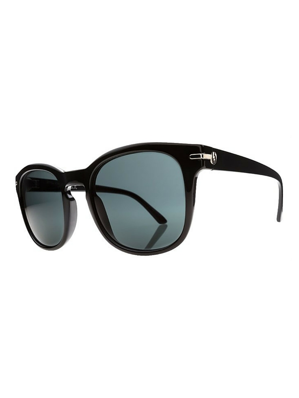 Electric Rip Rock Sunglasses Gloss Black- Melanin Grey