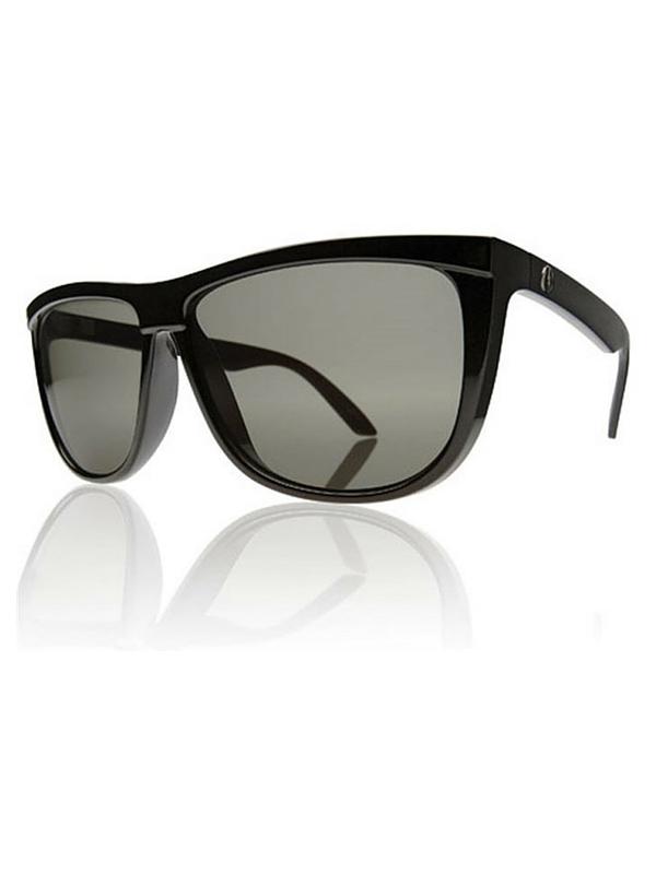 Electric Tonette Sunglasses Gloss Black- Grey