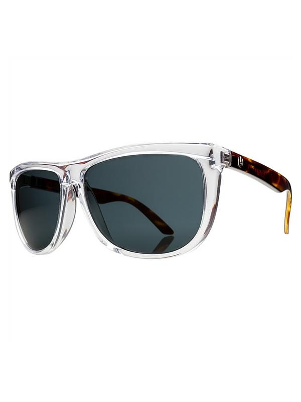 Electric Tonette Sunglasses Tortoise Crystal- Melanin Grey