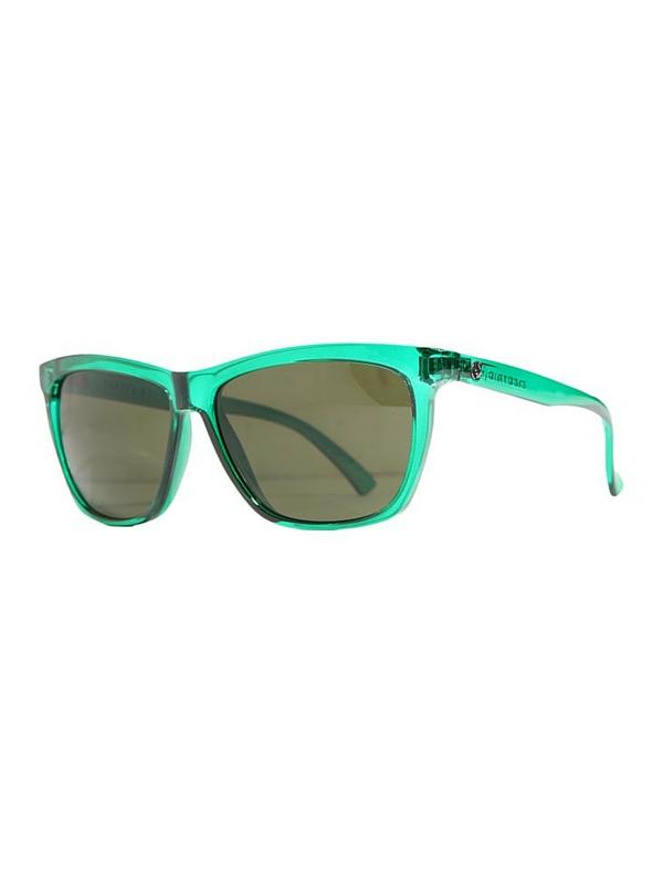 Electric Watts Sunglasses Emerald- Melanin Grey