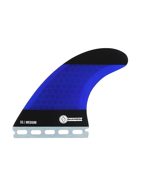 SHAPERS FINS FUTURE CORE LITE S5 BLUE-BLACK THRUSTER FINS