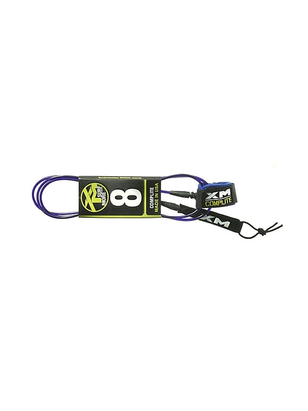 XM COMP LIGHT DOUBLE SWIVEL 8' BLUE SURF LEASH