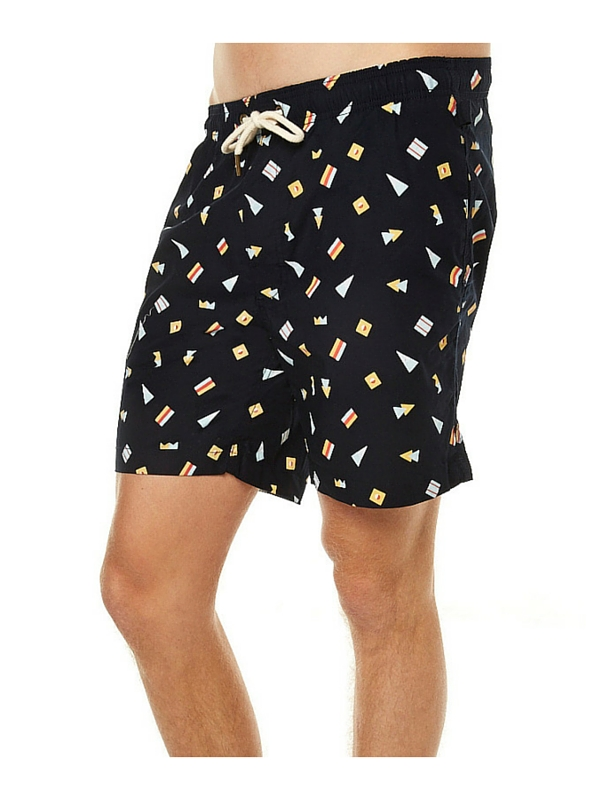 ACADEMY BRAND MARITIME MENS BEACH SHORT - NAVY