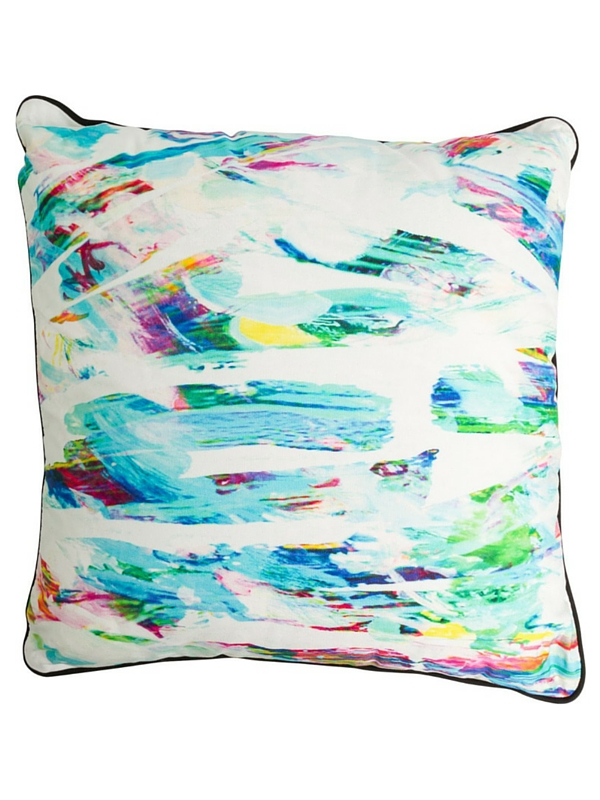 ANKIT PAINT STROKE THROW PILLOW