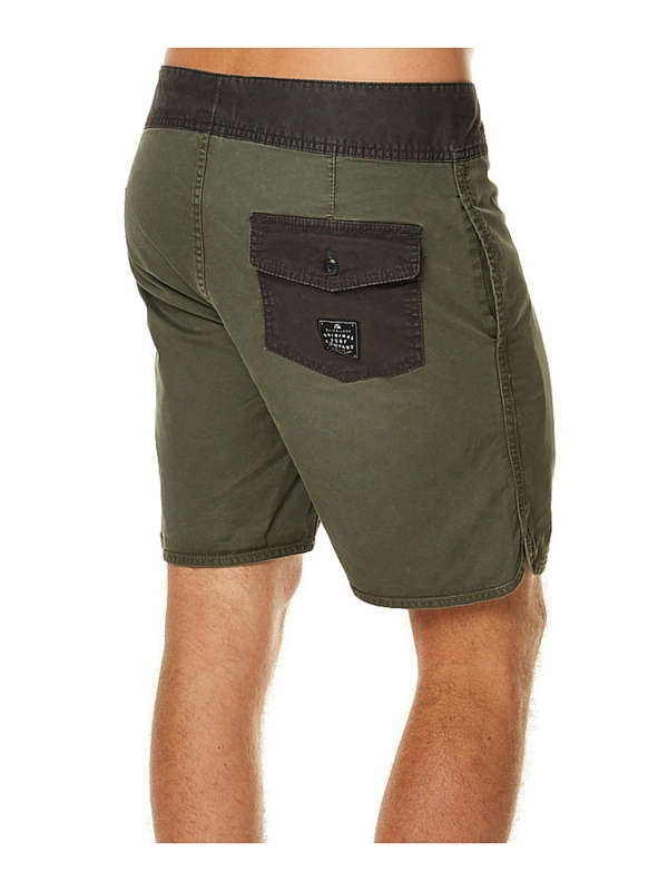 QUIKSILVER STREET TRUNK SCALLOP MENS BOARDSHORT – FOREST NIGHT (1)
