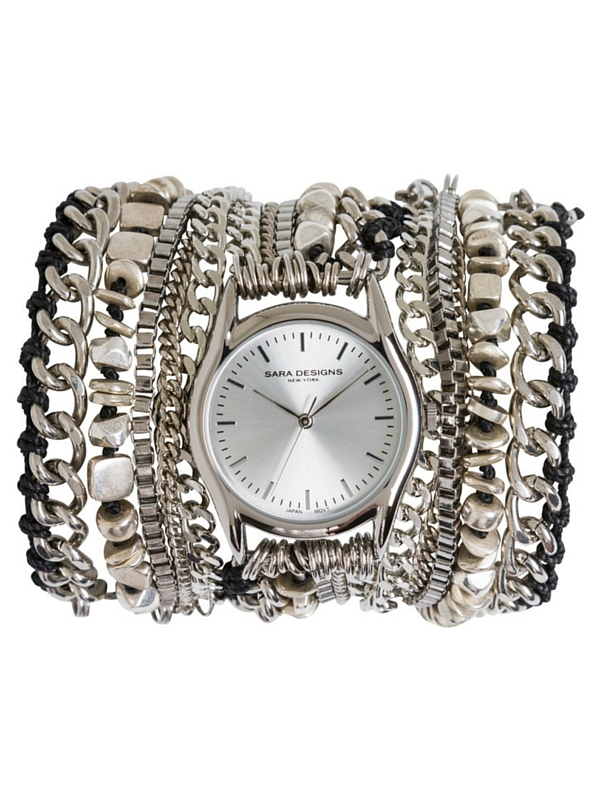 SARA DESIGNS COTTON CORD WATCH