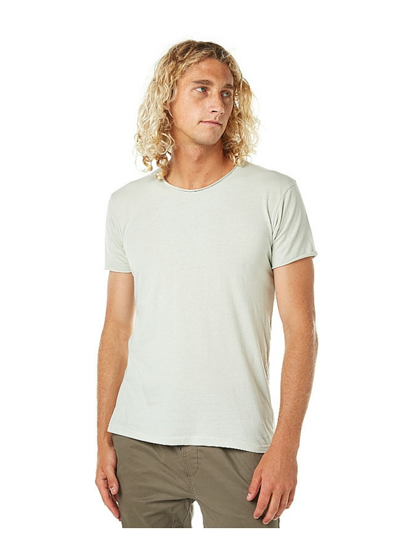 SILENT THEORY OVER CROTCH MENS TEE - PASTEL MINT