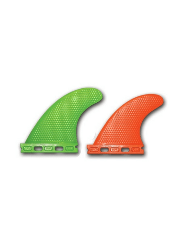 3d-fins-xcs-fibre%2fpolymer-futures-quad-set-up-w-xs-orange-trailer-fins-and-size-5-0-green-front-fins-132-187-lbs