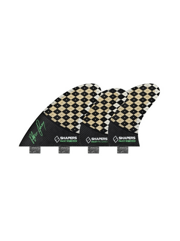 shapers-fins-fcs-carbon-flare-ap01-5-fin-set-medium-checkered-bamboo-black%2f-green